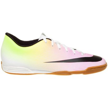 Shoes Boy Football shoes Nike JR Mercurial Vortex II IC Green-Pink-White