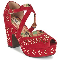 Shoes Women Sandals Miss L'Fire SELINA Red