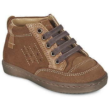 Shoes Boy Mid boots Citrouille et Compagnie FIMOULA Brown