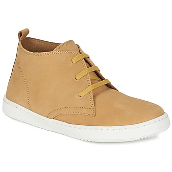 Shoes Boy Mid boots Citrouille et Compagnie FANTASIO Yellow