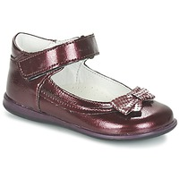Shoes Girl Flat shoes Citrouille et Compagnie FRIZZY BORDEAUX