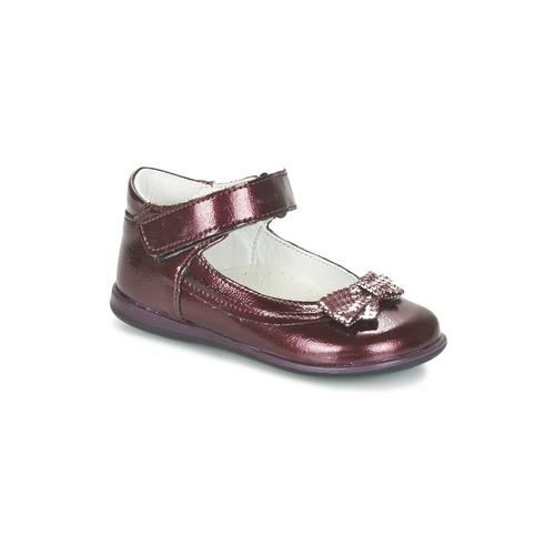 Shoes Girl Flat shoes Citrouille et Compagnie FRIZZY Bordeaux