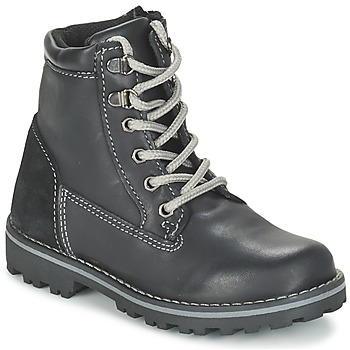 Shoes Boy Mid boots Citrouille et Compagnie FACOSA Black