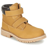 Shoes Children Mid boots Citrouille et Compagnie FIKOURAL Yellow
