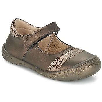 Shoes Girl Flat shoes Citrouille et Compagnie FENTRO Bronze