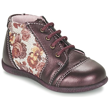 Shoes Girl Mid boots Citrouille et Compagnie FRICOL Purple