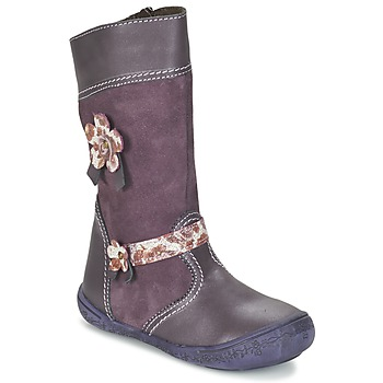 Shoes Girl High boots Citrouille et Compagnie RINDAR Purple