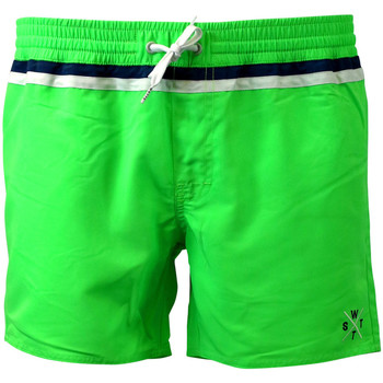 Clothing Men Trunks / Swim shorts Watts Swim Shorts Man  Cryds Fluorescent Green