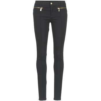 Clothing Women 5-pocket trousers Versace Jeans TOLKALA Black