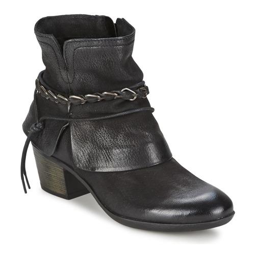 Shoes Women Ankle boots Dream in Green BAKKAR Black