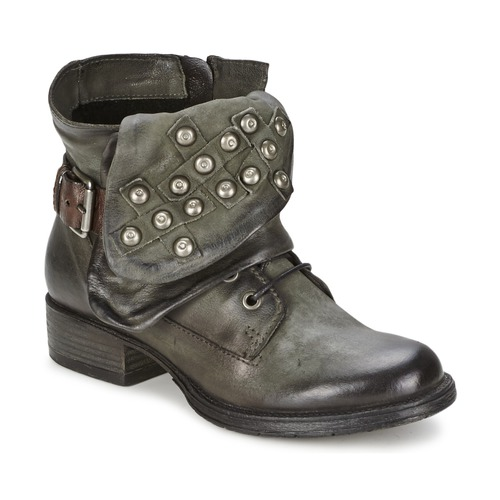 Shoes Women Mid boots Dream in Green TAWFIQ Grey