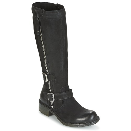 Shoes Women High boots Dream in Green DALIL Black
