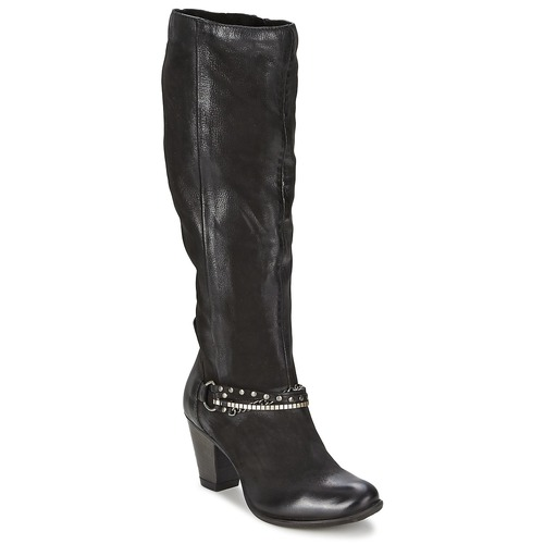 Shoes Women High boots Dream in Green SAHER Black