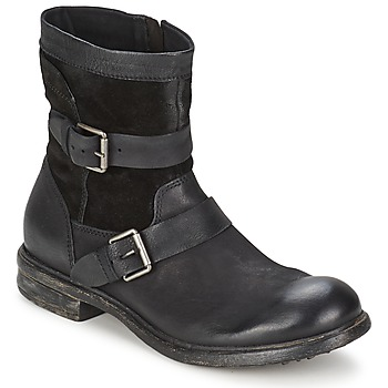 Shoes Men Mid boots Dream in Green HASSIB Black