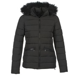 Clothing Women Duffel coats Le Temps des Cerises STAR Black