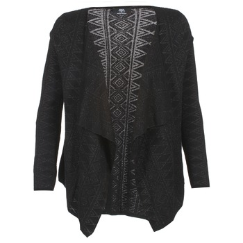 Clothing Women Jackets / Cardigans Le Temps des Cerises COMETE Black