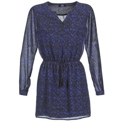 Clothing Women Short Dresses Le Temps des Cerises WANG Blue