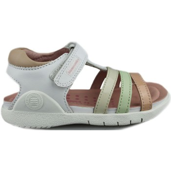 Shoes Children Sandals Biomecanics SAUVAGE CHAROL WHITE