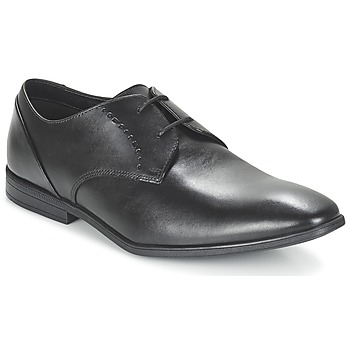 Shoes Men Derby Shoes Clarks Bampton Lace Black