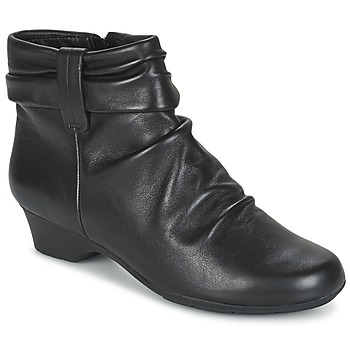 Shoes Women Ankle boots Clarks Matron Ella  BLACK / Leather