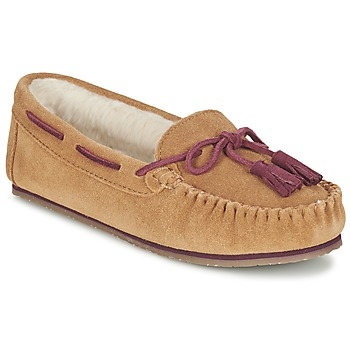 Shoes Women Loafers Clarks Eskimo Kiki Sand / Suede