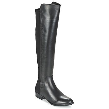 Shoes Women High boots Clarks Caddy Belle  black / Leather