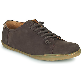 Shoes Men Derby Shoes Camper PEU Dark Brown