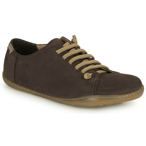 Shoes Men Derby Shoes Camper PEU Brown