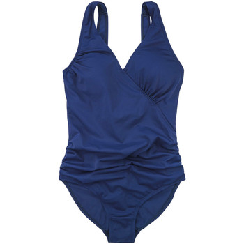 Clothing Women Swimsuits Marie Meili 1 Piece Navy Swimsuit Malibu NAVY-BLUE