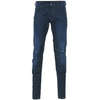 Clothing Men Skinny jeans G-Star Raw REVEND SUPER SLIM Slander / INDIGO / Superstretch / DK / Aged
