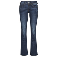 Clothing Women Bootcut jeans G-Star Raw MIDGE SADDLE MID BOOTLEG Blue