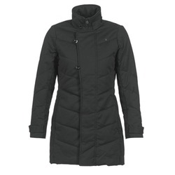 Clothing Women Parkas G-Star Raw MINOR CLASSIC QLT COAT Black
