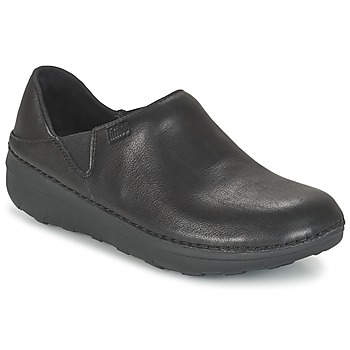 Shoes Women Loafers FitFlop SUPERLOAFER (LEATHER) Black