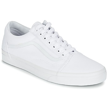 Shoes Low top trainers Vans OLD SKOOL TRUE / White