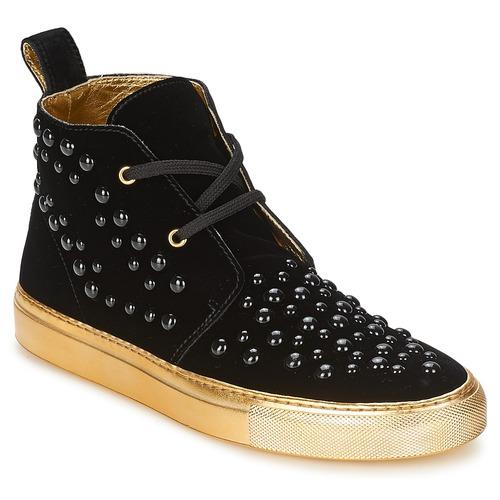 Shoes Women Hi top trainers Sonia Rykiel 670183 Black