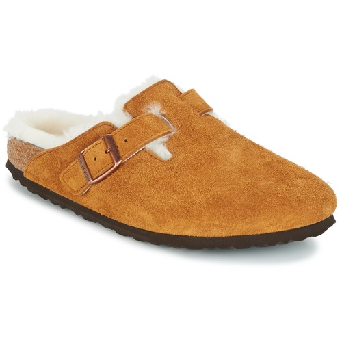 Shoes Women Clogs Birkenstock BOSTON Brown