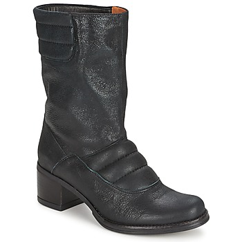 Shoes Women Mid boots Espace DORPIN Black