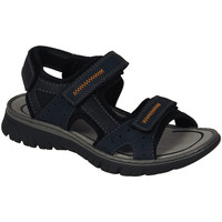 Shoes Men Sandals Rieker Gents Casual Walking Sandal Blue Combi