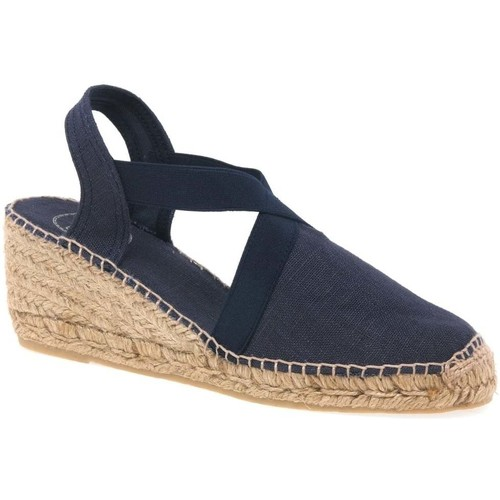 Shoes Women Espadrilles Toni Pons Ter Womens Wedge Heeled Espadrilles blue