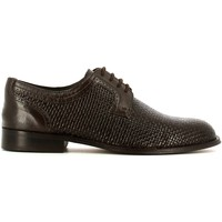 Shoes Men Brogues Fontana 5701C Elegant shoes Man Brown Brown