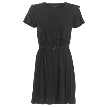 Clothing Women Short Dresses Diesel D LETO Black