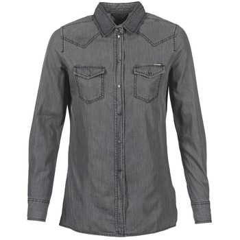 Clothing Women Shirts Diesel DE SOVY RE Grey
