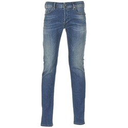 Clothing Men Skinny jeans Diesel SLEENKER Blue / 0855q