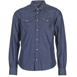 Clothing Men long-sleeved shirts Diesel NEW SONORA Blue