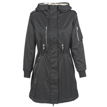 Clothing Women Parkas Diesel W RAIKA Black