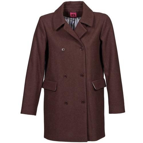 Clothing Women Coats Bensimon WHITER Prune