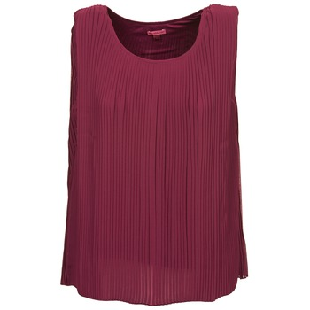 Clothing Women Tops / Sleeveless T-shirts Bensimon REINE Prune