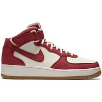 Shoes Men Hi top trainers Nike Air Force 1 Mid 07 Red