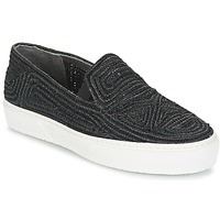 Shoes Women Slip ons Robert Clergerie TRIBAL Black