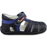 Shoes Boy Sandals Pablosky MAYA VELCRO BLUE